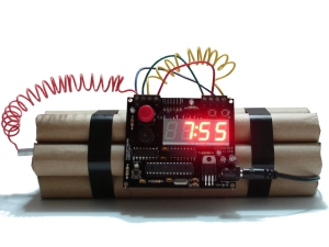 Ticking bomb project for Project Lab