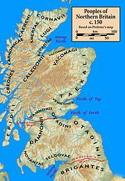 New Location of Caledonians along Loch Ness.