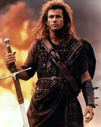 Fig 19: Mel Gibson, Braveheart