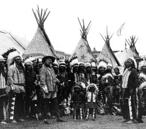 Fig 21: Buffalo Bill's Wild West Date 1890