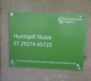 Huntspill_sign